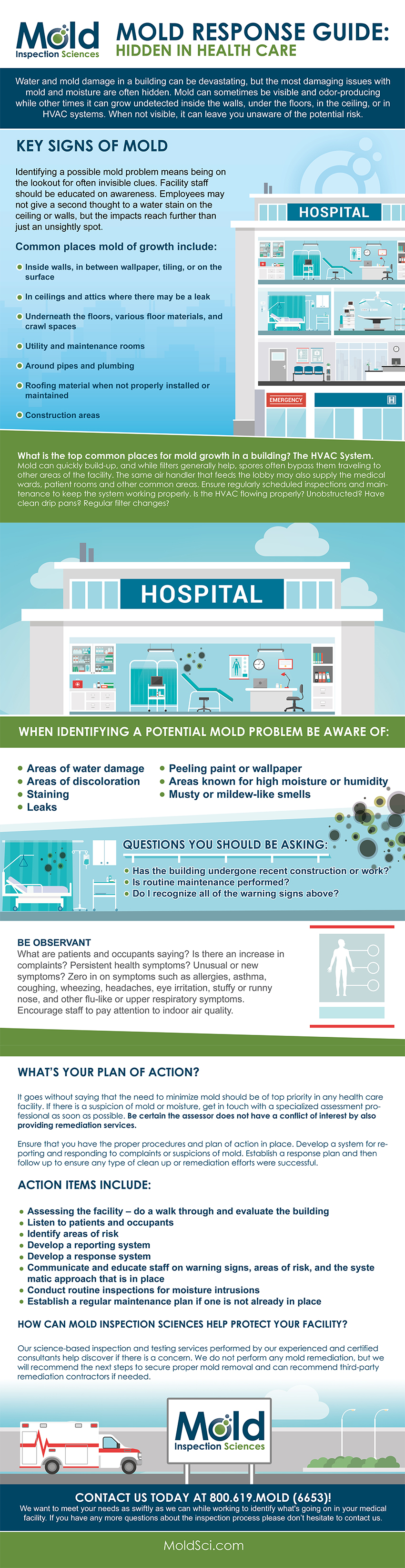 Mold Response Guide for Medical Facilities